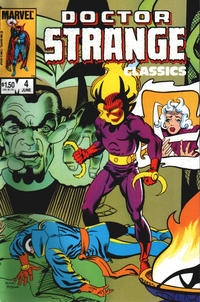 Cover Thumbnail for Doctor Strange Classics Starring Doctor Strange (Marvel, 1984 series) #4