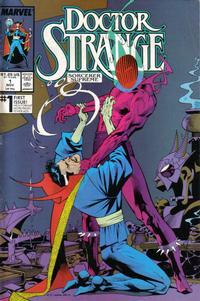 Cover for Doctor Strange, Sorcerer Supreme (Marvel, 1988 series) #1 [Direct Edition]