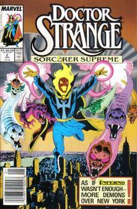 Cover Thumbnail for Doctor Strange, Sorcerer Supreme (Marvel, 1988 series) #2
