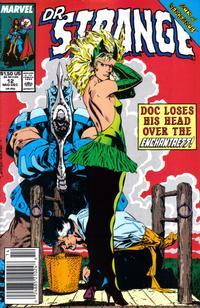 Cover for Doctor Strange, Sorcerer Supreme (Marvel, 1988 series) #12