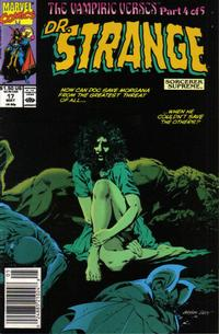 Cover Thumbnail for Doctor Strange, Sorcerer Supreme (Marvel, 1988 series) #17