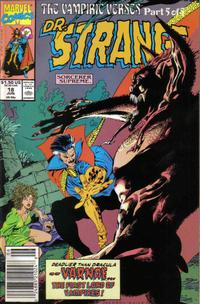 Cover for Doctor Strange, Sorcerer Supreme (Marvel, 1988 series) #18