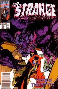 Cover Thumbnail for Doctor Strange, Sorcerer Supreme (Marvel, 1988 series) #20