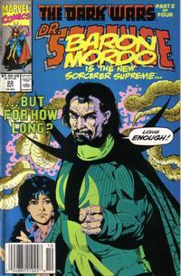 Cover Thumbnail for Doctor Strange, Sorcerer Supreme (Marvel, 1988 series) #22