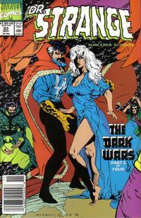 Cover for Doctor Strange, Sorcerer Supreme (Marvel, 1988 series) #23