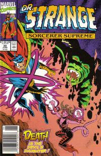 Cover Thumbnail for Doctor Strange, Sorcerer Supreme (Marvel, 1988 series) #30
