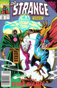 Cover Thumbnail for Doctor Strange, Sorcerer Supreme (Marvel, 1988 series) #33