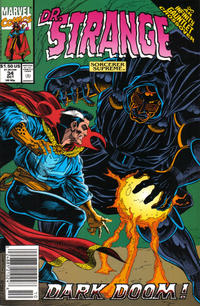 Cover for Doctor Strange, Sorcerer Supreme (Marvel, 1988 series) #34
