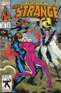Cover for Doctor Strange, Sorcerer Supreme (Marvel, 1988 series) #39 [Direct Edition]