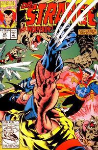 Cover Thumbnail for Doctor Strange, Sorcerer Supreme (Marvel, 1988 series) #41 [Direct]
