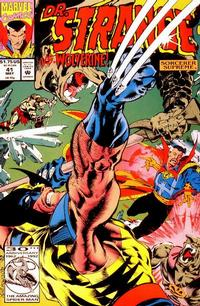 Cover for Doctor Strange, Sorcerer Supreme (Marvel, 1988 series) #41 [Direct Edition]