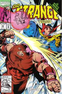 Cover Thumbnail for Doctor Strange, Sorcerer Supreme (Marvel, 1988 series) #44 [Direct Edition]