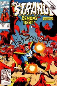 Cover Thumbnail for Doctor Strange, Sorcerer Supreme (Marvel, 1988 series) #48 [Direct Edition]