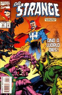 Cover for Doctor Strange, Sorcerer Supreme (Marvel, 1988 series) #57