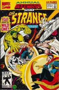Cover Thumbnail for Doctor Strange, Sorcerer Supreme Annual (Marvel, 1992 series) #2 [Direct Edition]
