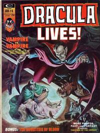 Cover Thumbnail for Dracula Lives (Marvel, 1973 series) #4