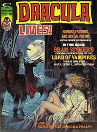 Cover Thumbnail for Dracula Lives (Marvel, 1973 series) #v2#1 [5]