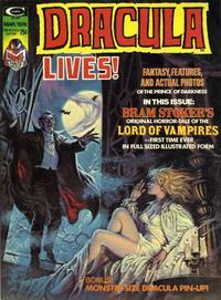 Cover Thumbnail for Dracula Lives (Marvel, 1973 series) #v2#1 [5]