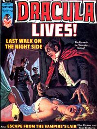 Cover Thumbnail for Dracula Lives (Marvel, 1973 series) #8
