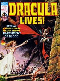 Cover Thumbnail for Dracula Lives (Marvel, 1973 series) #12