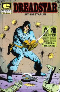 Cover Thumbnail for Dreadstar (Marvel, 1982 series) #3