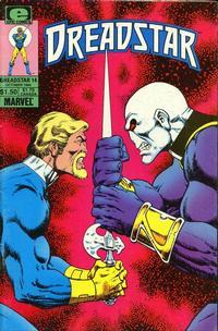 Cover Thumbnail for Dreadstar (Marvel, 1982 series) #14