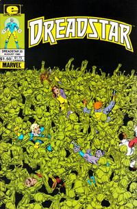 Cover Thumbnail for Dreadstar (Marvel, 1982 series) #20