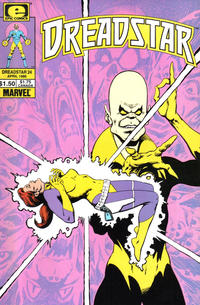 Cover Thumbnail for Dreadstar (Marvel, 1982 series) #24