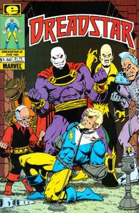 Cover Thumbnail for Dreadstar (Marvel, 1982 series) #25
