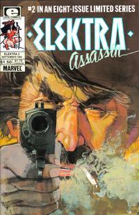 Cover for Elektra: Assassin (Marvel, 1986 series) #2
