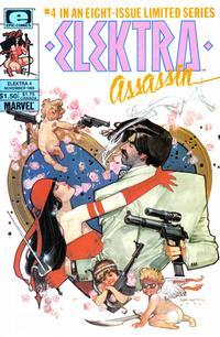 Cover Thumbnail for Elektra: Assassin (Marvel, 1986 series) #4