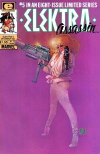 Cover Thumbnail for Elektra: Assassin (Marvel, 1986 series) #5