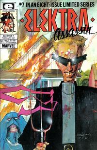 Cover Thumbnail for Elektra: Assassin (Marvel, 1986 series) #7