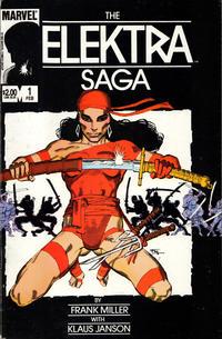 Cover Thumbnail for The Elektra Saga (Marvel, 1984 series) #1