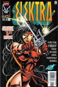 Cover Thumbnail for Elektra (Marvel, 1996 series) #1 [Direct Edition]