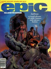 Cover Thumbnail for Epic Illustrated (Marvel, 1980 series) #2