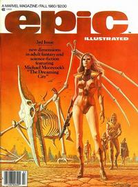 Cover Thumbnail for Epic Illustrated (Marvel, 1980 series) #3