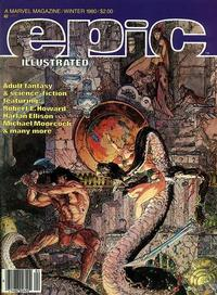 Cover Thumbnail for Epic Illustrated (Marvel, 1980 series) #4
