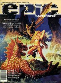 Cover Thumbnail for Epic Illustrated (Marvel, 1980 series) #5