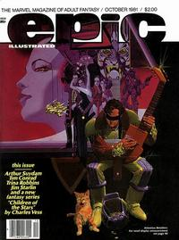 Cover Thumbnail for Epic Illustrated (Marvel, 1980 series) #8