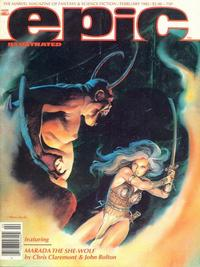 Cover Thumbnail for Epic Illustrated (Marvel, 1980 series) #10