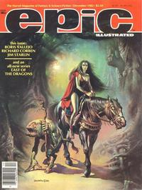 Cover Thumbnail for Epic Illustrated (Marvel, 1980 series) #15