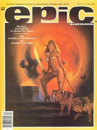 Cover Thumbnail for Epic Illustrated (Marvel, 1980 series) #21