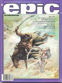 Cover Thumbnail for Epic Illustrated (Marvel, 1980 series) #23