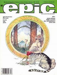 Cover Thumbnail for Epic Illustrated (Marvel, 1980 series) #28