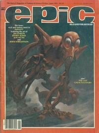 Cover Thumbnail for Epic Illustrated (Marvel, 1980 series) #30