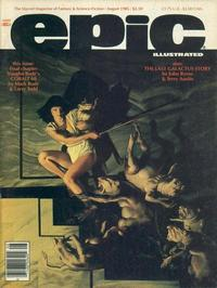 Cover Thumbnail for Epic Illustrated (Marvel, 1980 series) #31