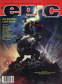Cover Thumbnail for Epic Illustrated (Marvel, 1980 series) #34