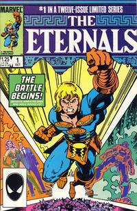 Cover Thumbnail for Eternals (Marvel, 1985 series) #1 [Direct]