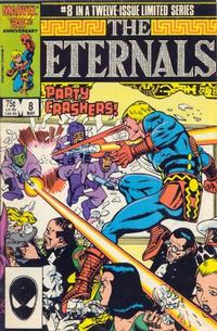 Cover Thumbnail for Eternals (Marvel, 1985 series) #8 [Direct]